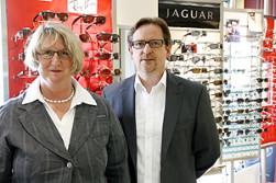 Inhaber von Bobka GmbH, Augenoptik, Uhren, Schmuck: Ute Hanisch, Hans-Jörg Bobka