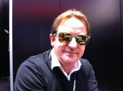 H.-J.Bobka zu Besuch auf der Augenoptik-Fachmesse in München; Januar 2014